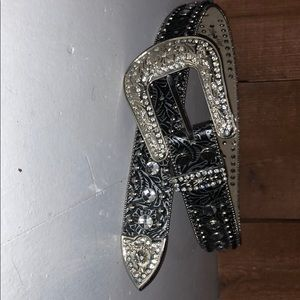 Accessories - Rhinestone horse belt